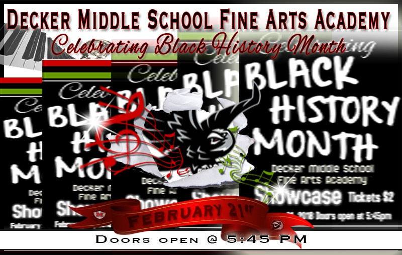 Decker Middle School Fine Arts Academy Black History Month Showcase Thumbnail Image