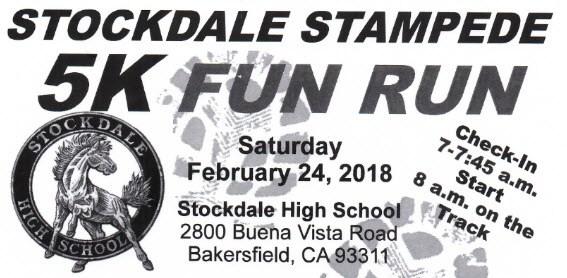 Stockdale Stampede 5K Fun Run Thumbnail Image
