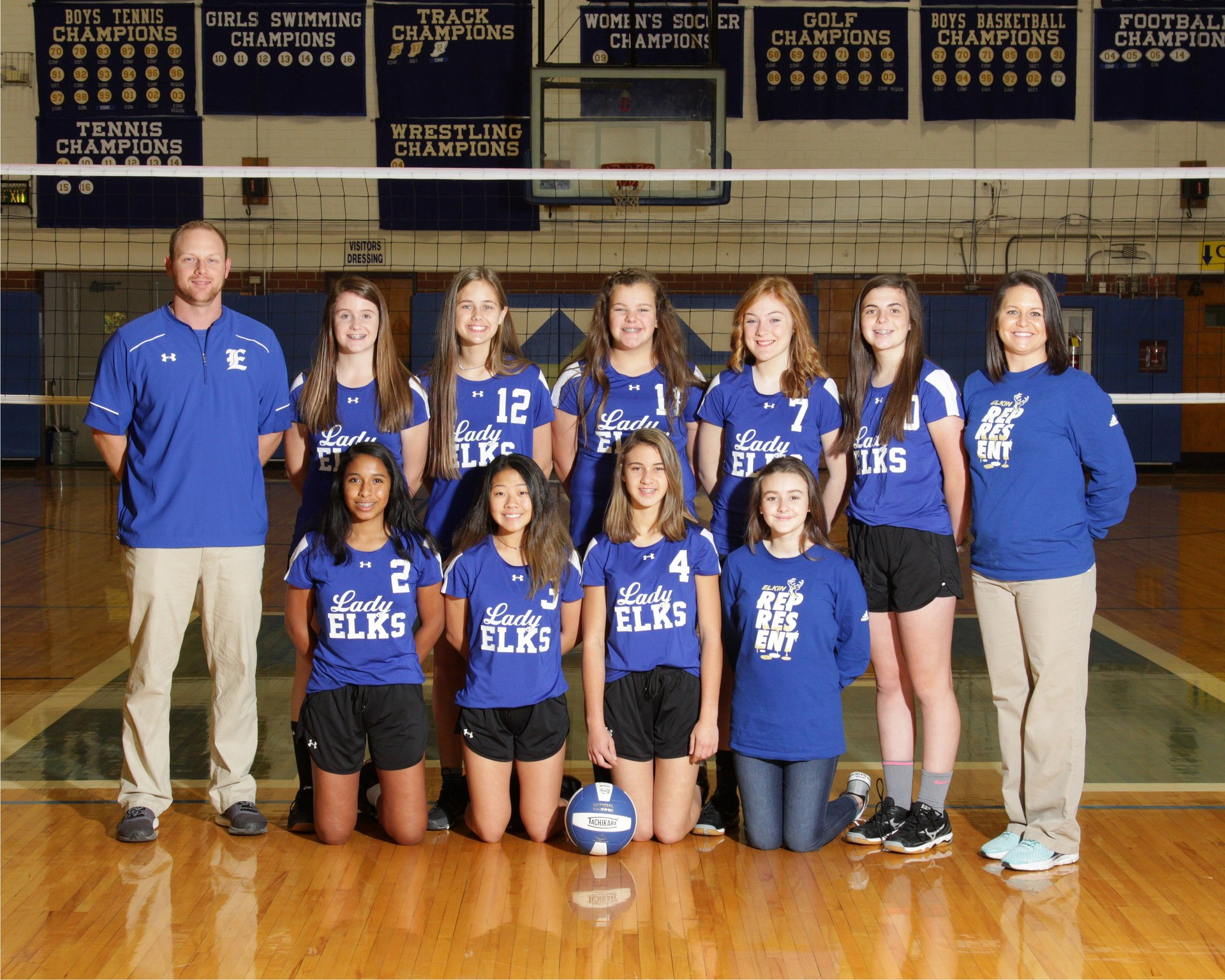 Ems Volleyball Athletics Elkin Middle School