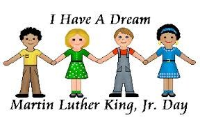i have a dream with kids holding hands