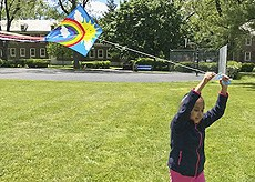 STEM activity with kites