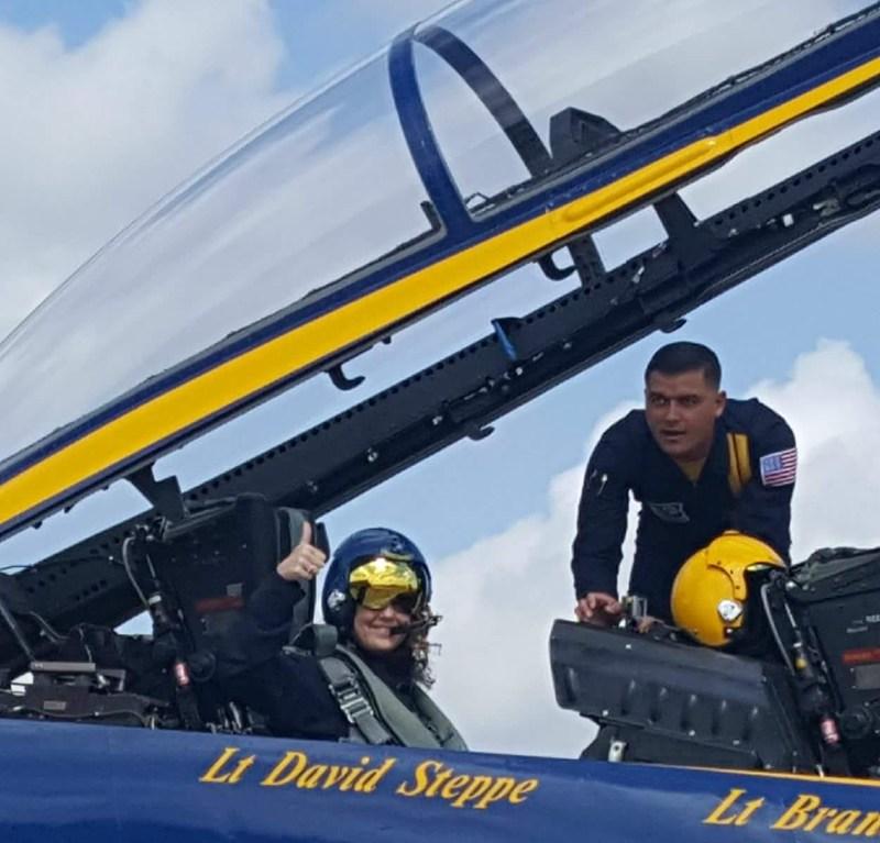 BCHS Principal takes flight in a Blue Angel Thumbnail Image
