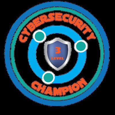 Cybersecurity Champion Badge