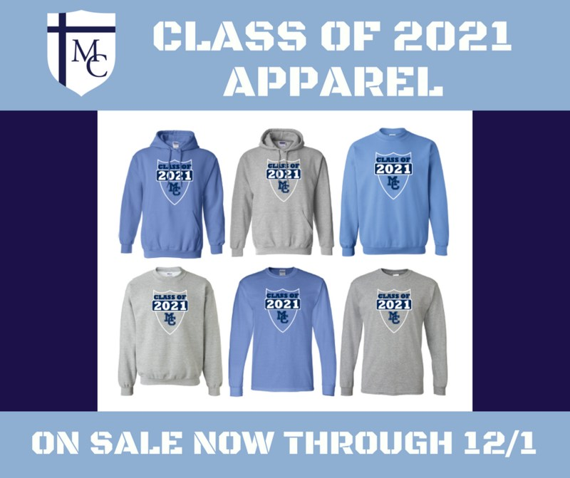 Class of 2021 Apparel Sale Thumbnail Image