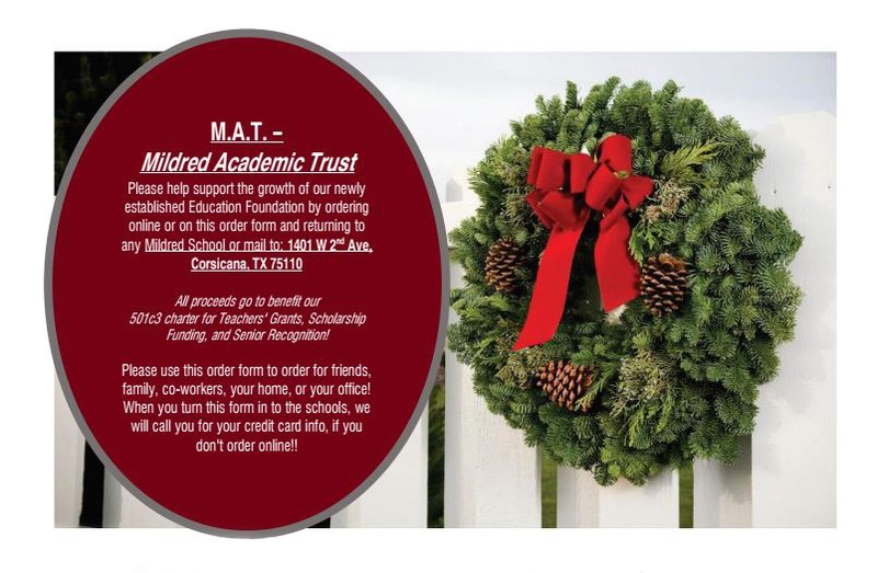MAT fall fundraiser flyer with info