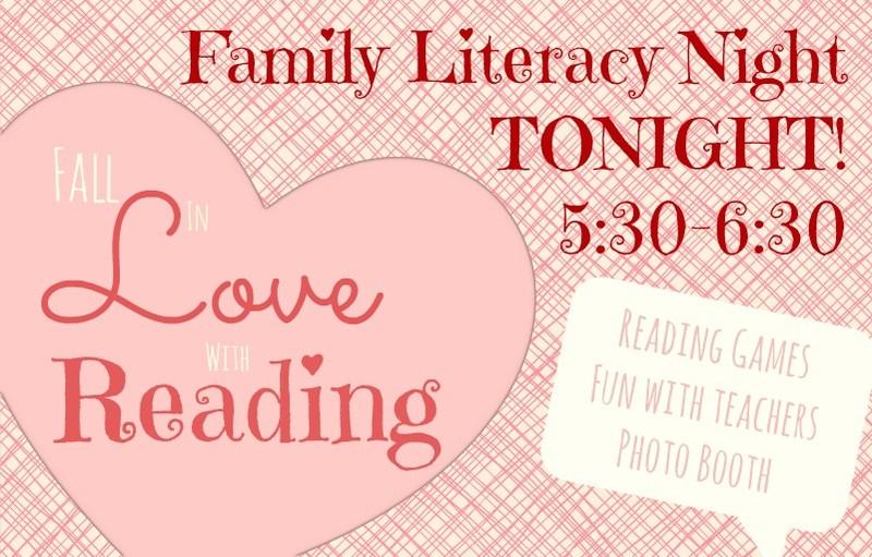 Family Literacy Night: Tonight! Thumbnail Image