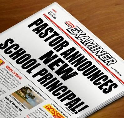 Fr. Paw Lwin Announces New Principal! Thumbnail Image