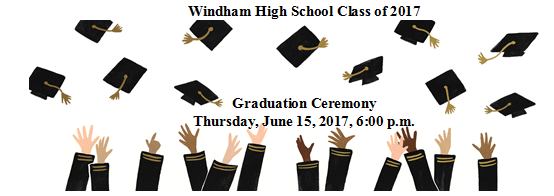 WHS Class of 2017 Graduation Ceremony Information Thumbnail Image