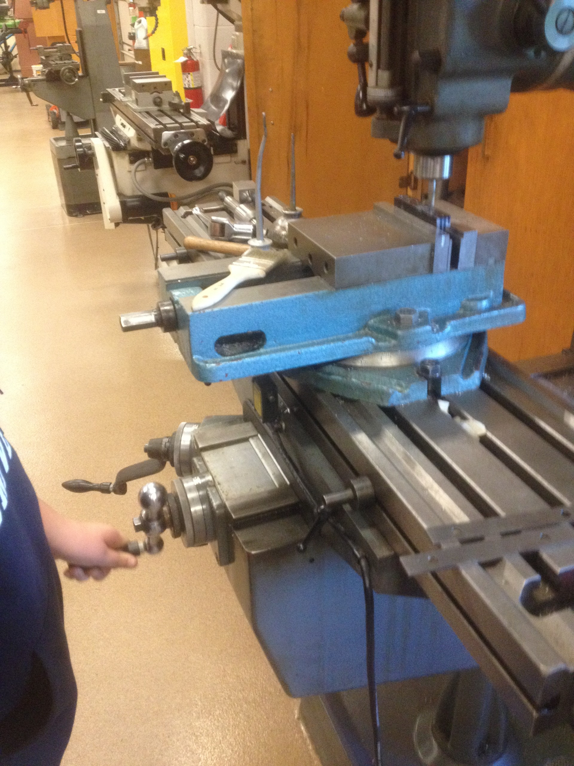 Manual Milling Operations