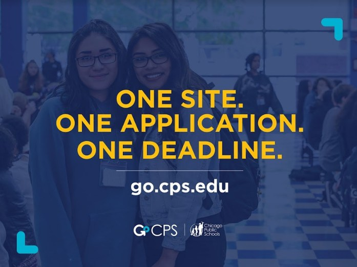 Graphic saying One Site, One Application, One Deadline.