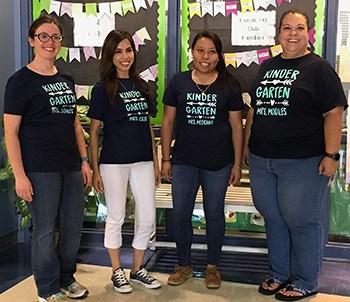 Garcia Elementary Kindergarten Team
