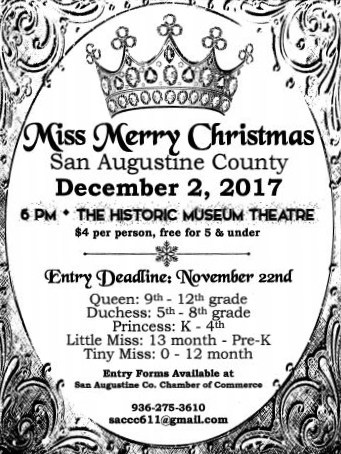 Miss Merry Christmas Flyer