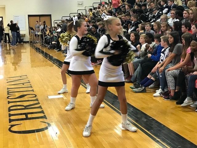 6th Grade Cheerleaders