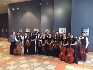 MISD Orchestra students