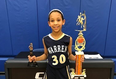 SJS 4th Grader Samantha Jeanlouie advances to the Knights of Columbus Metuchen Regional Free Throw Competition Thumbnail Image