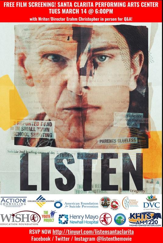 'Listen' movie poster