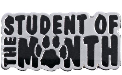 students of the month paw