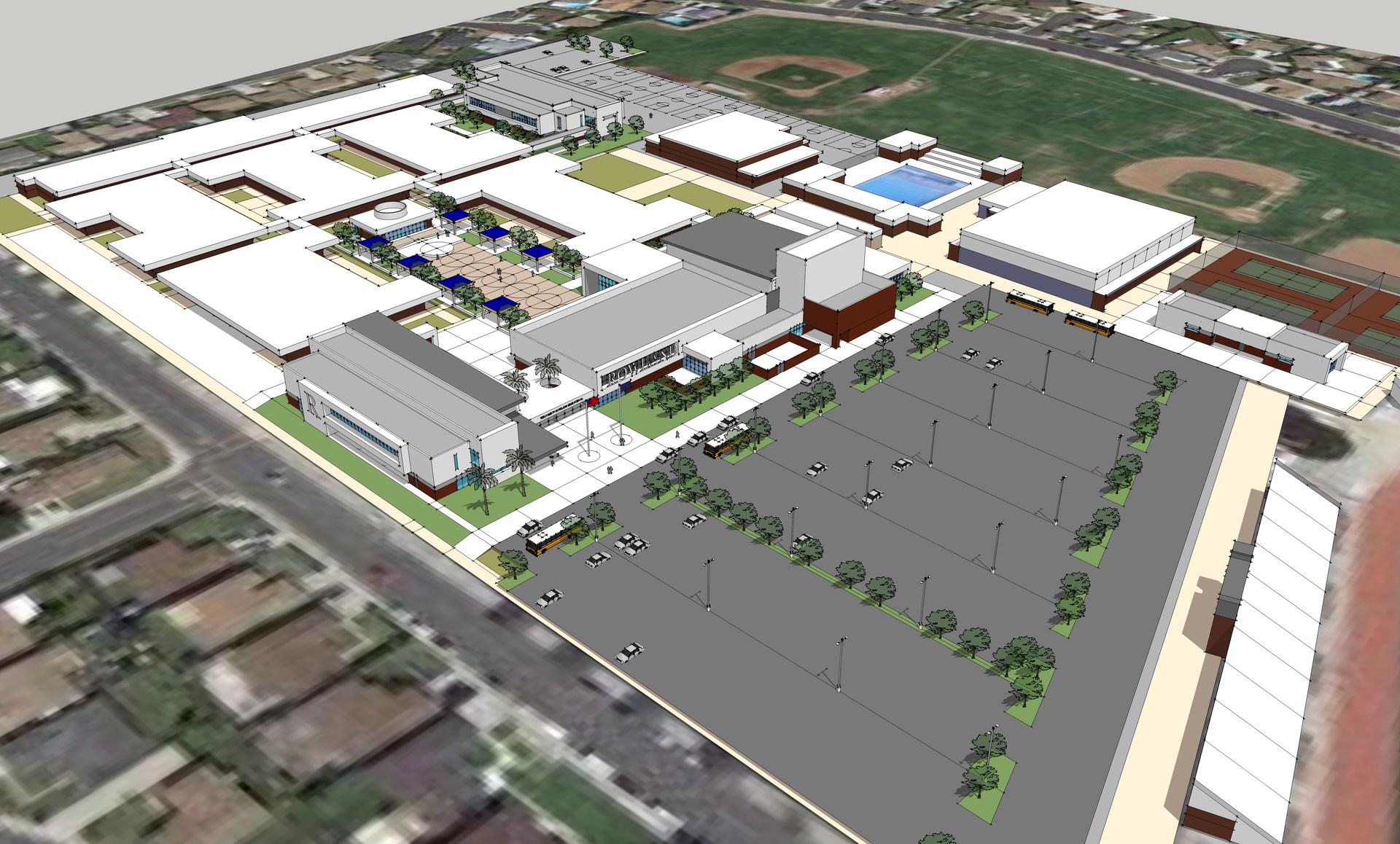 Aerial View of RHS