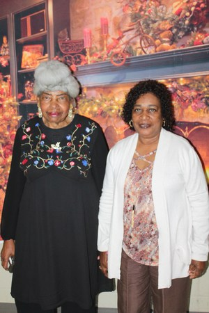 Helen Evans and Ethel Donaldson