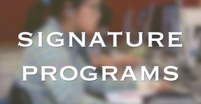 Open House 2018: Signature Programs Video Thumbnail Image