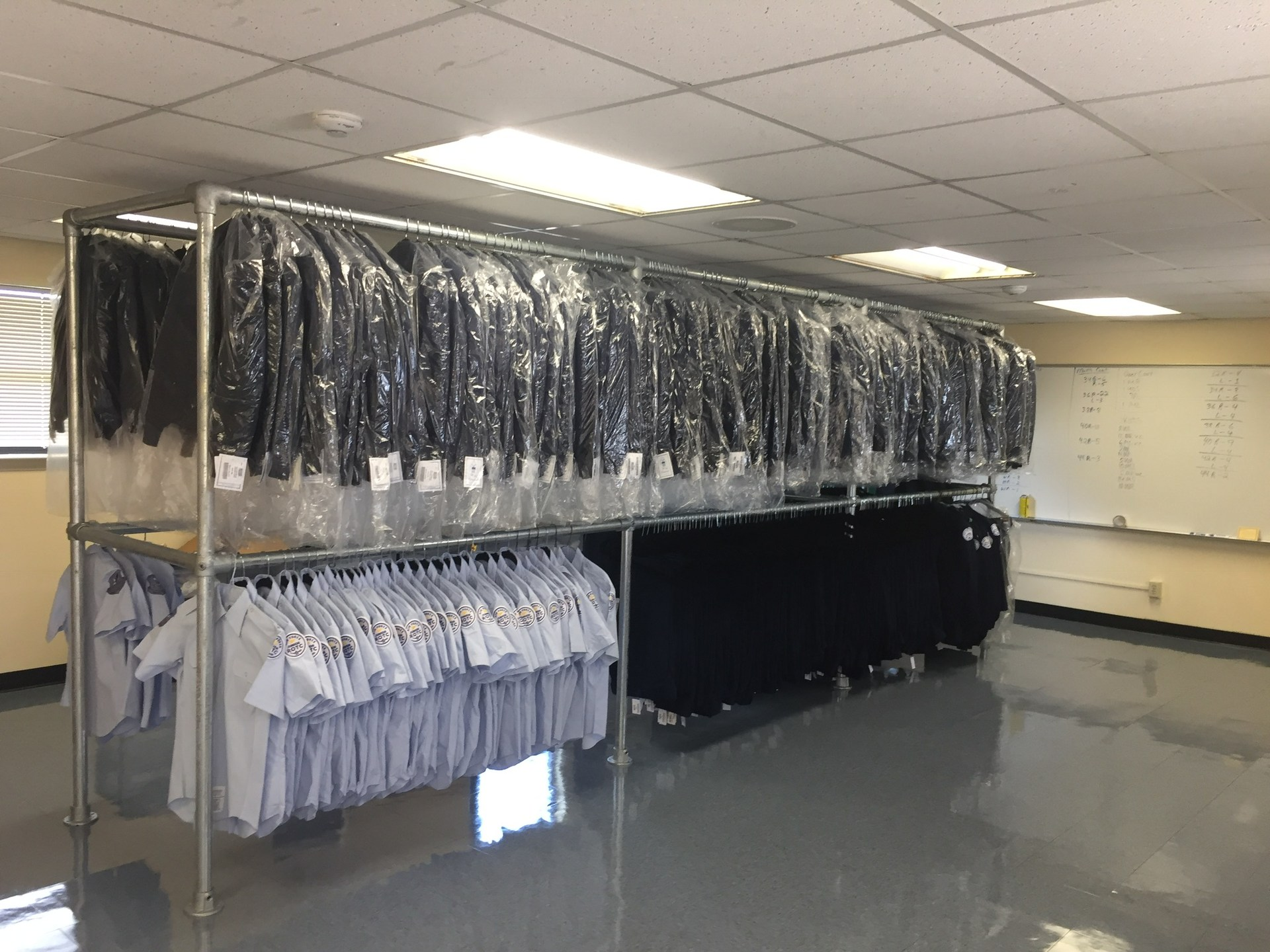 Uniforms are waiting!