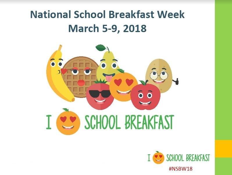 I Love School Breakfast