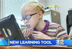 IPads Changing Lives For Visually Impaired Students