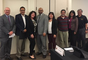 YCOE team with Superintendent Tom Pritchard