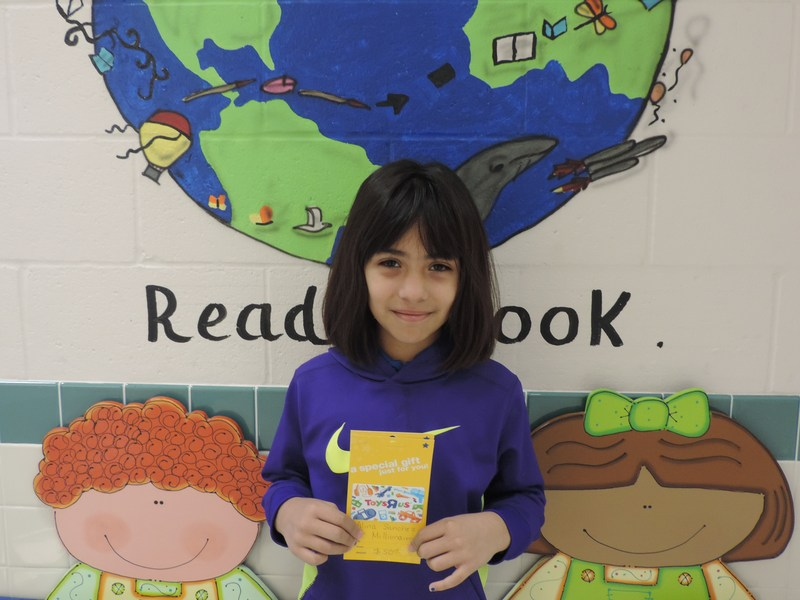 Lucas Elementary Recognizes Tiger Star Reader #9 Thumbnail Image