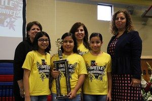 Midkiff Elementary School second place team picture