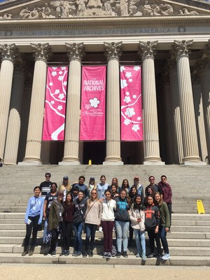 4 - St. Francis East Coast Study Trip - National Archives.JPG