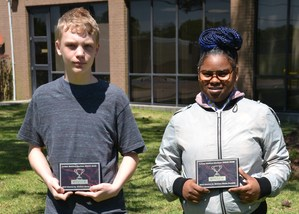 Students place in essay contest.