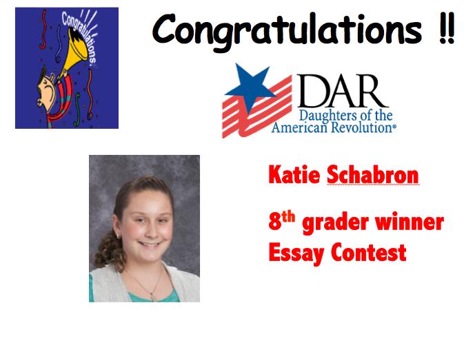 dar essay contest winner