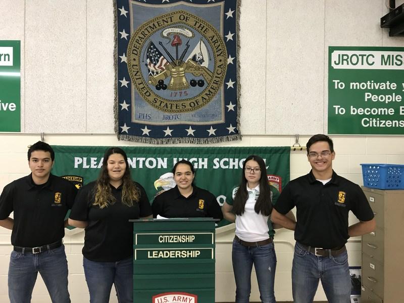 JROTC leadership team