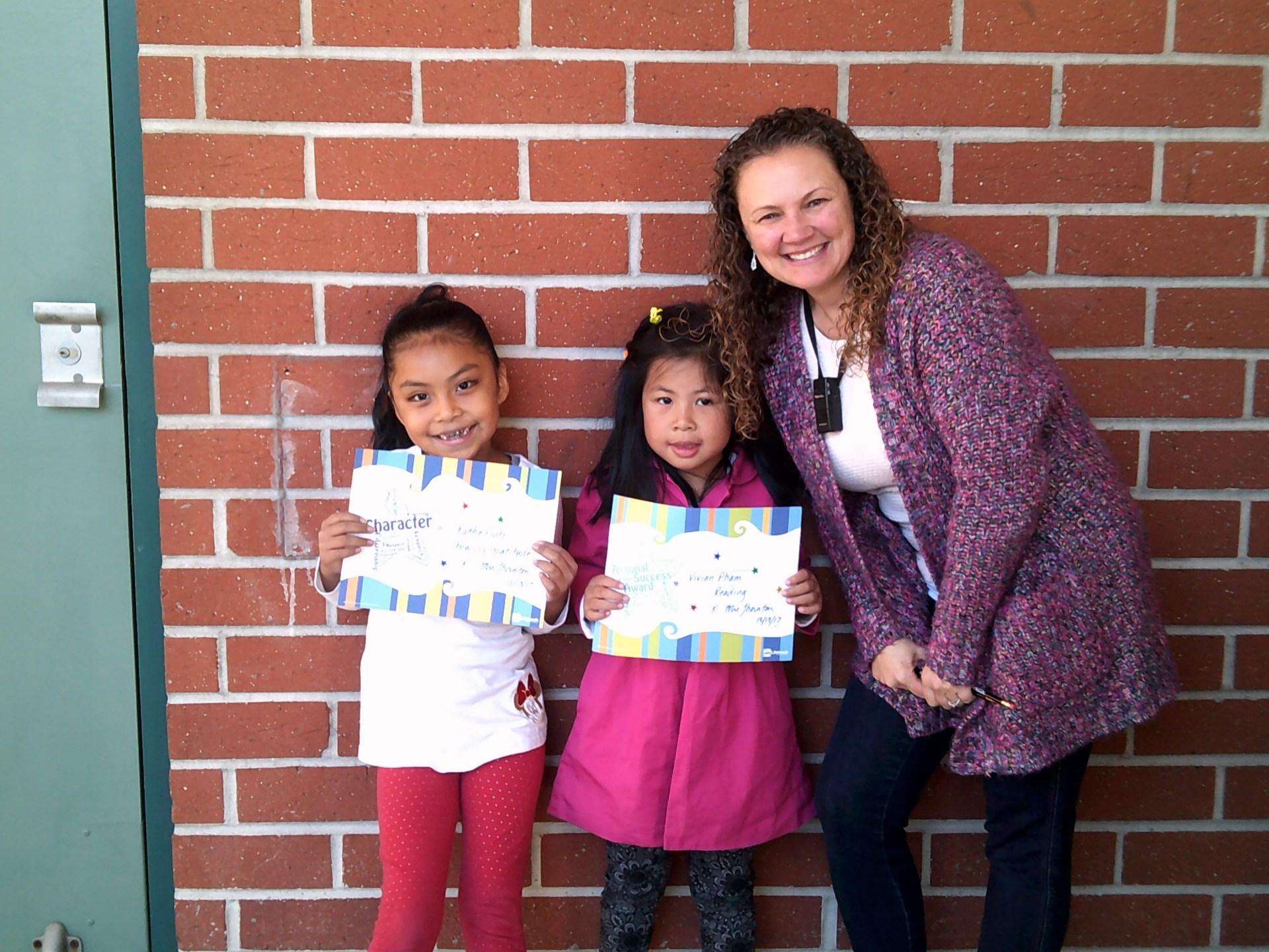 Mrs. Thornton's December Honorees