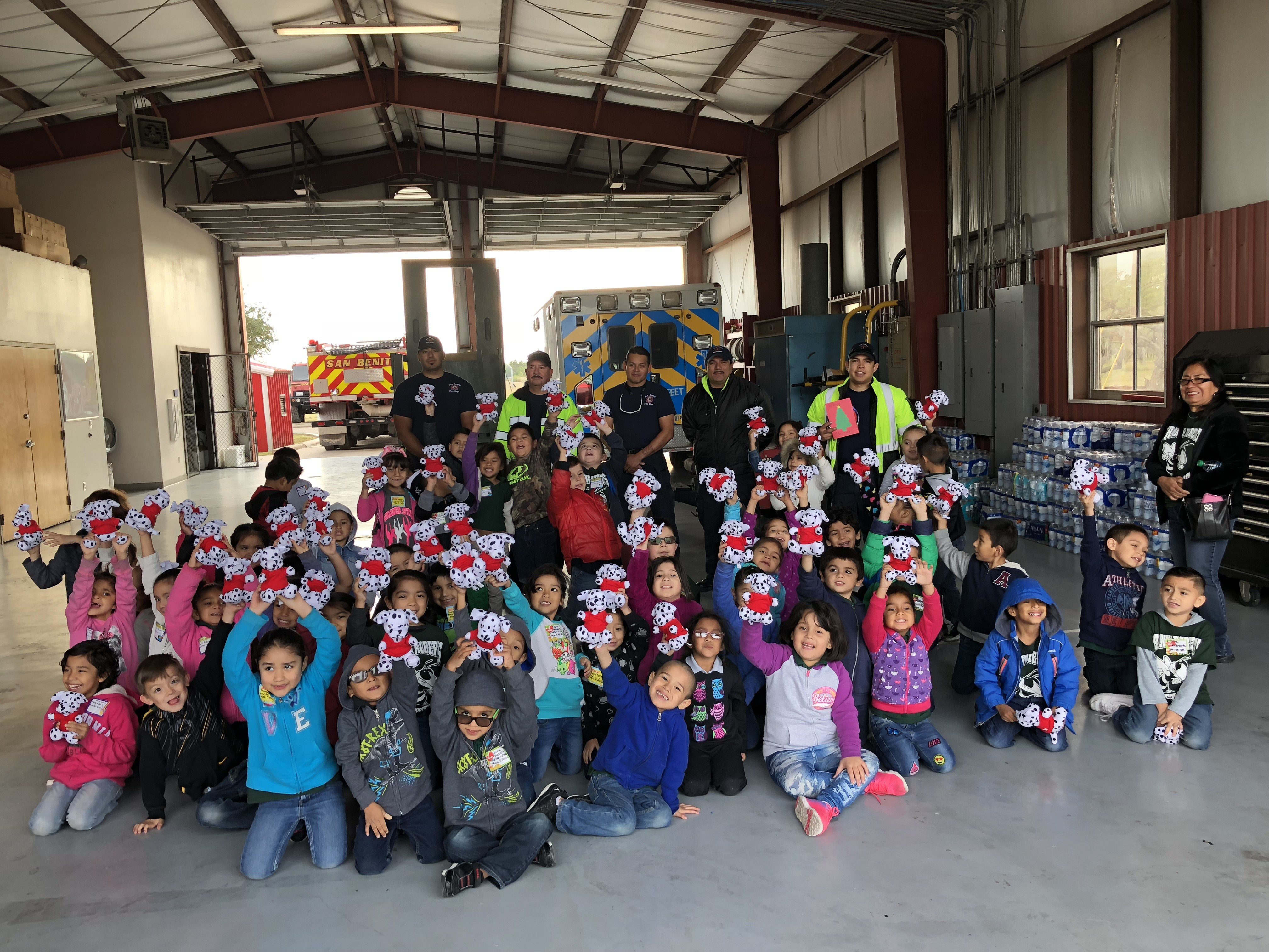 Field Trip to Fire Station #1