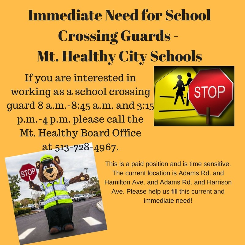 Immediate Need for Crossing Guards Featured Photo