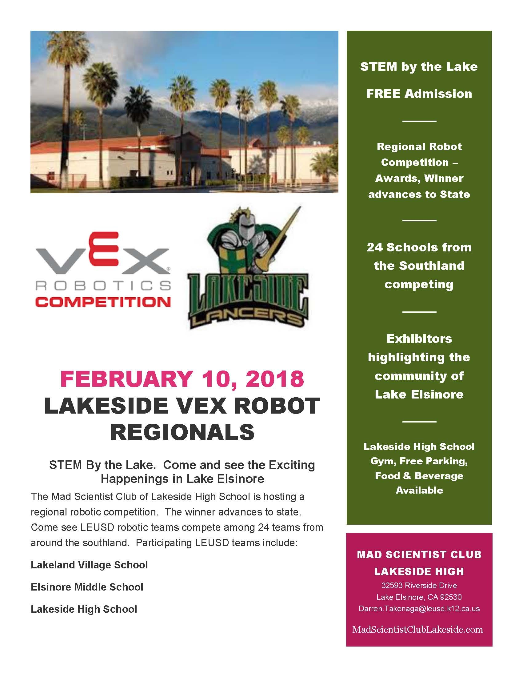 Regional VEX Robot Competition