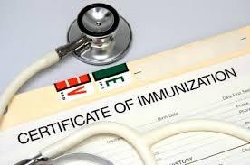 School Health Policies Immunizations