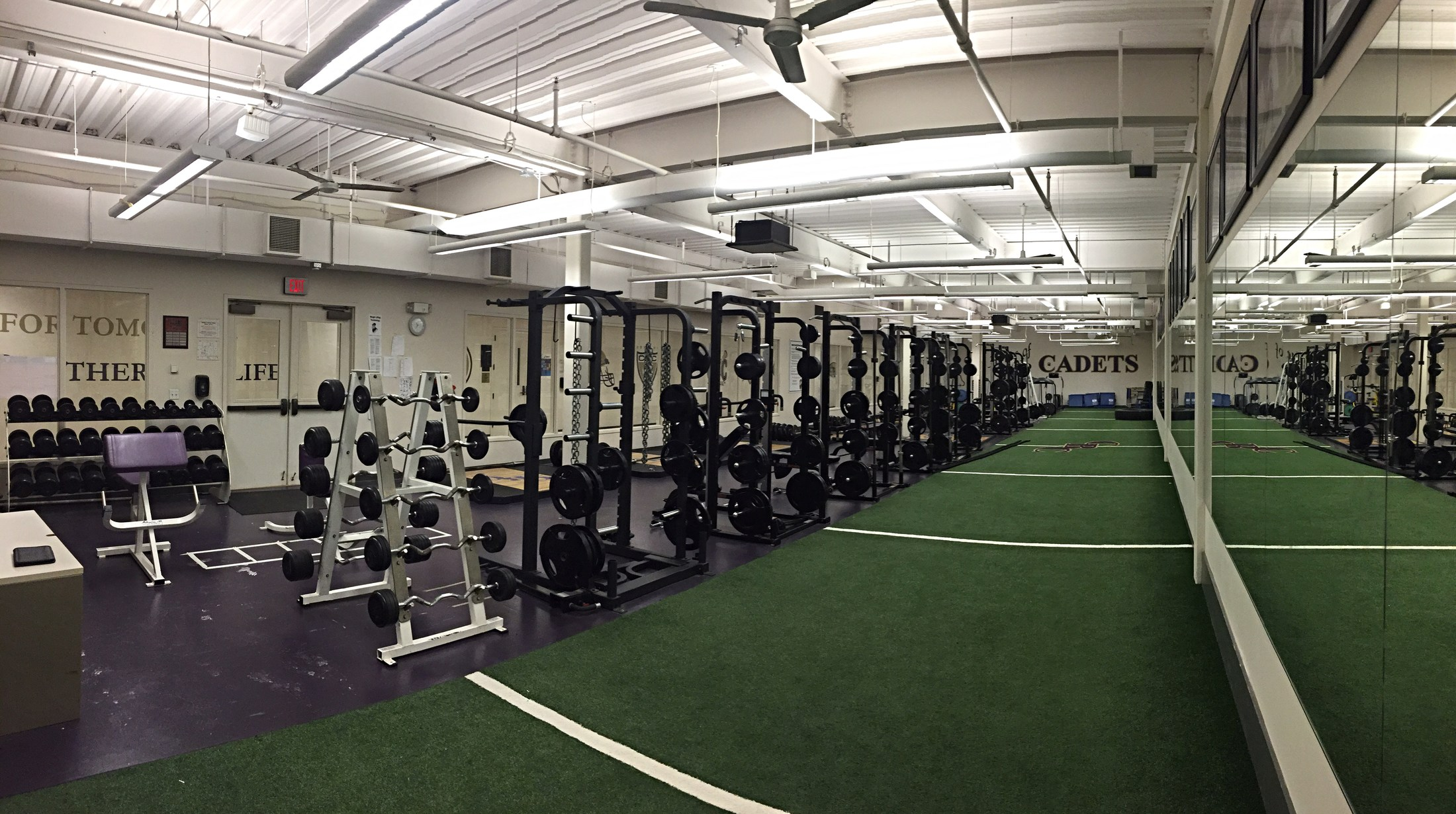 Weight Room – Our Campus – Christian Brothers College High School