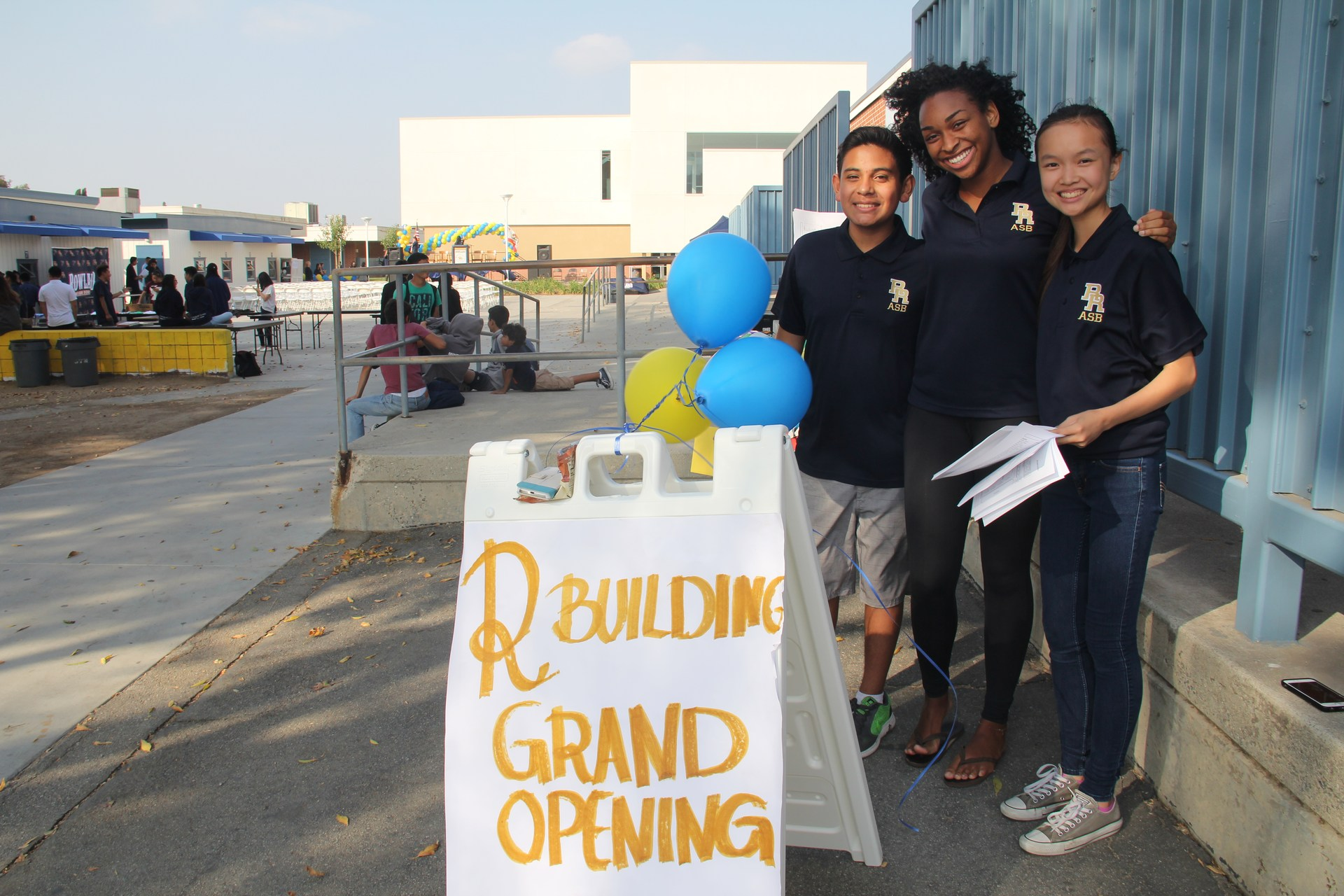 Grand Opening of Building R