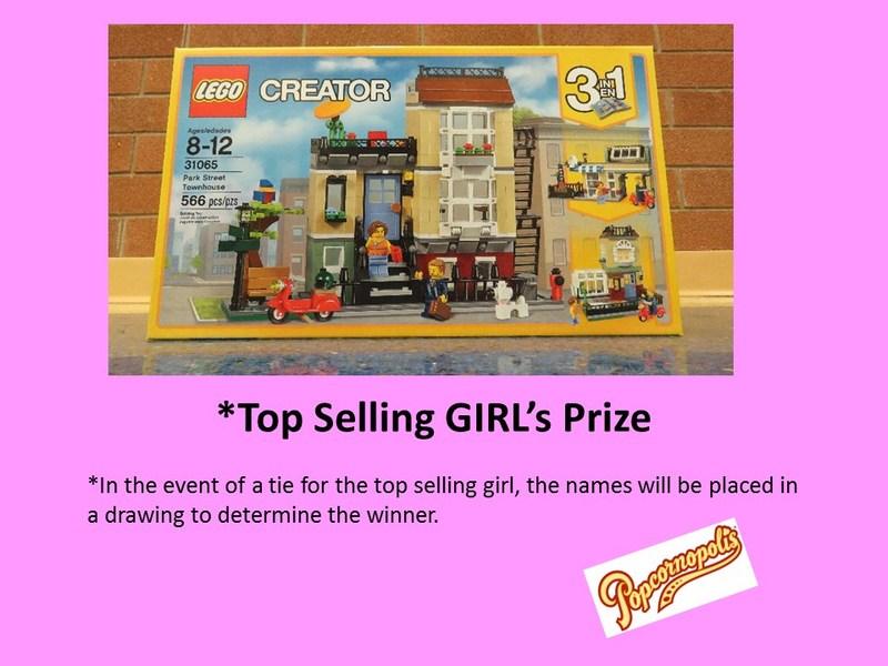 Top Selling Girl's Prize Thumbnail Image