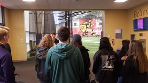 OLSH students tour Gannon University