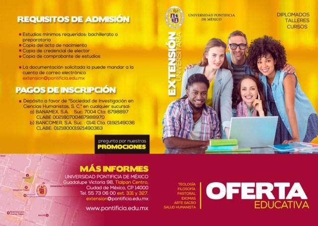 Oferta Educativa Universidad Pontificia de México Thumbnail Image