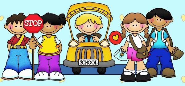 kids at school clipart