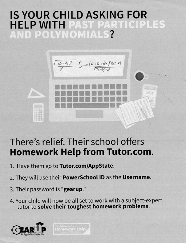 Homework Help from Tutor.com - Free to 9th and 10th Graders Thumbnail Image