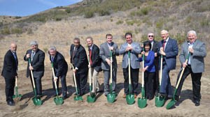 Image of Castaic High School Groundbreaking Ceremony