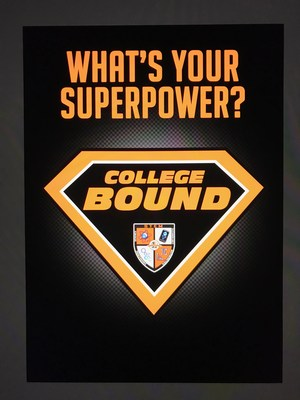 College Go Get It Week Superhero Graphic