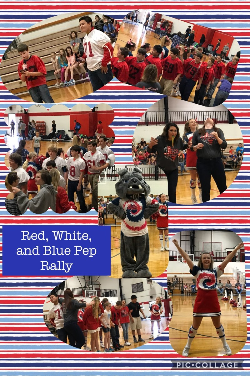 HJH Red, White, and Blue Pep Rally Thumbnail Image