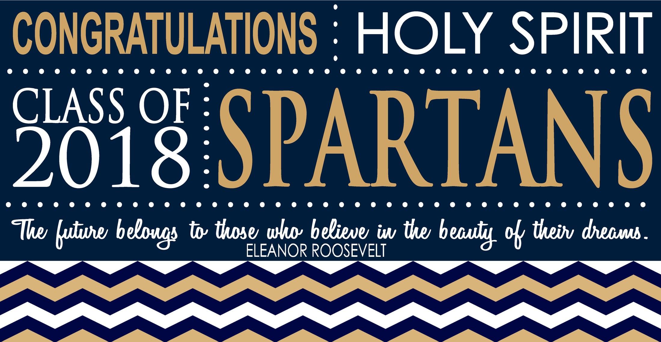 6e1e493fcee Congratulations Class of 2018 – Academics – Holy Spirit High School